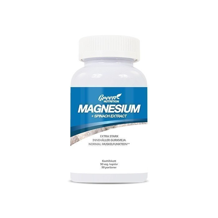 Green Nutrition Magnesium+ Spinach Extract 90 caps