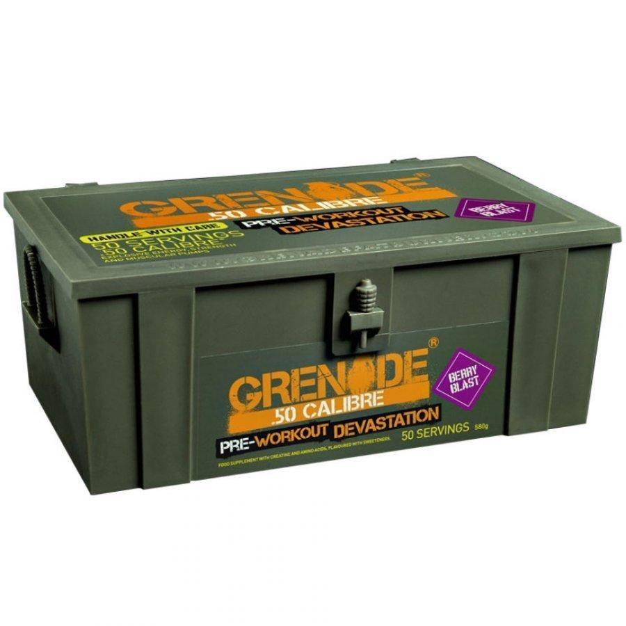 Grenade 50 Calibre Ammo Box 580 G Sachets Lemon Raid