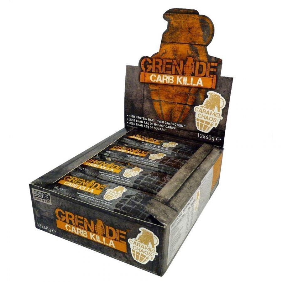 Grenade Carb Killa 12 X 60 G Rasiat White Chocolate Cookie