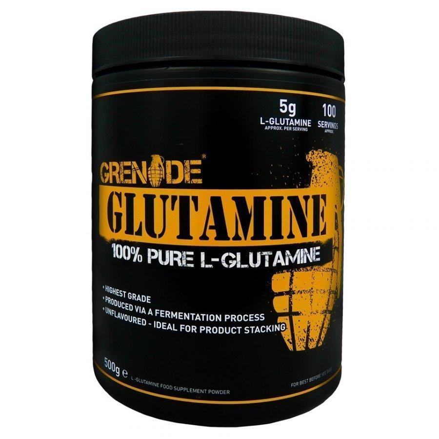 Grenade L-Glutamine 500 Capsules Tuubi Maustamaton