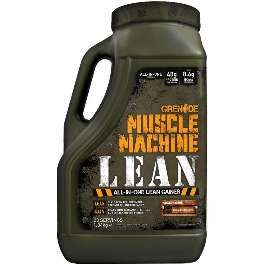 Grenade Muscle Machine Lean 1.8 Kg Tuubi Mansikka