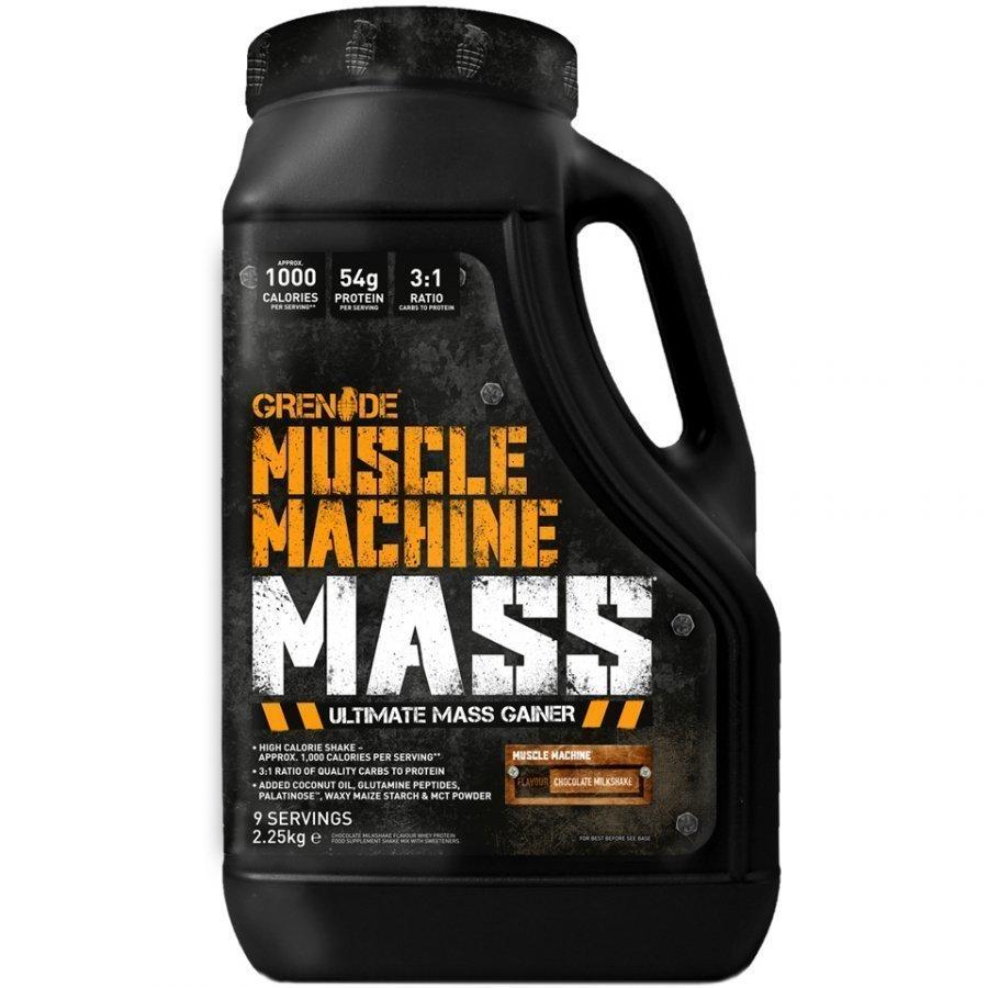 Grenade Muscle Machine Mass 5.7 Kg Tuubi Chocolate