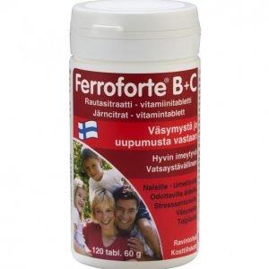 Hankintatukku Ferroforte B + C 120kpl