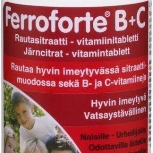 Hankintatukku Ferroforte B+C tabletit