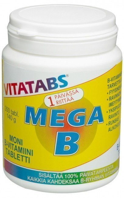 Hankintatukku Vitatabs Mega B