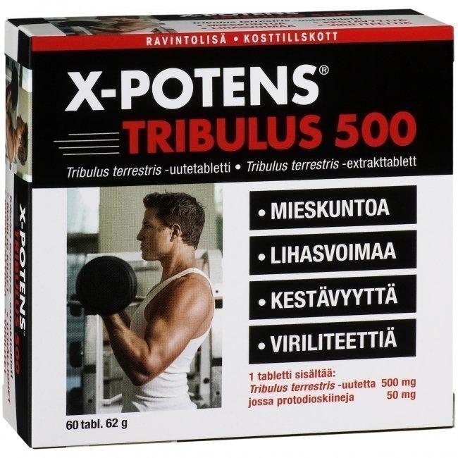 Hankintatukku X-Potens Tribulus