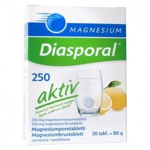 Harmonia Diasporal Magnesium 250 Aktiv 20 Kpl