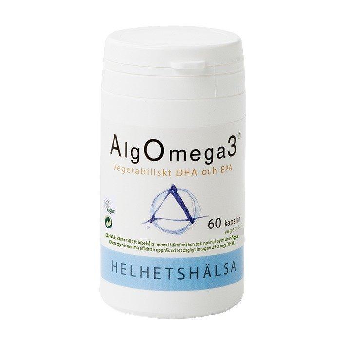 Helhetshälsa AlgOmega3 60 kapselia