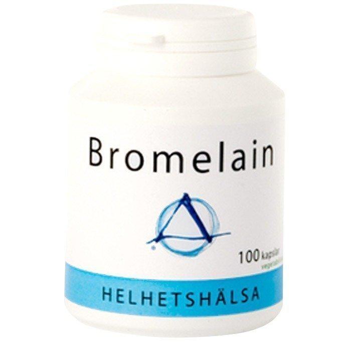 Helhetshälsa Bromelain 100 kapselia