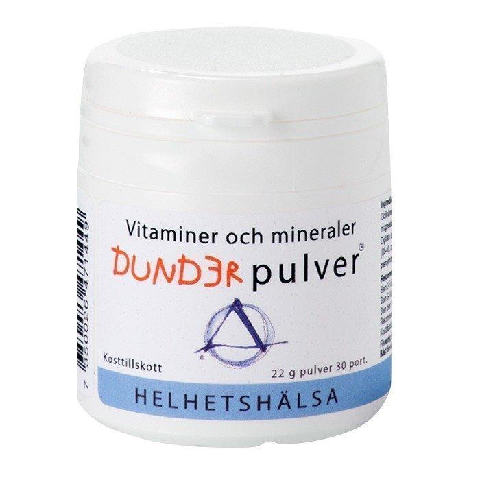 Helhetshälsa Dunderjauhe 30 annosta 22 grammaa