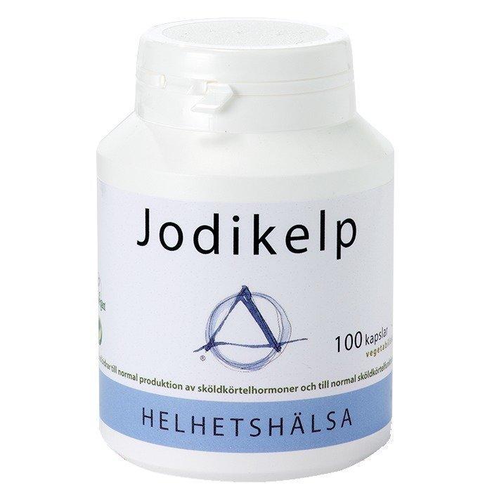 Helhetshälsa Jodikelp 100 kapselia
