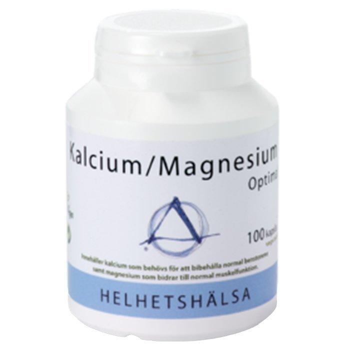 Helhetshälsa Kalcium/Magnesium Optimal 100 kapselia