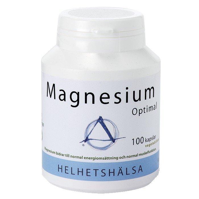 Helhetshälsa Magnesium Optimal 100 kapselia
