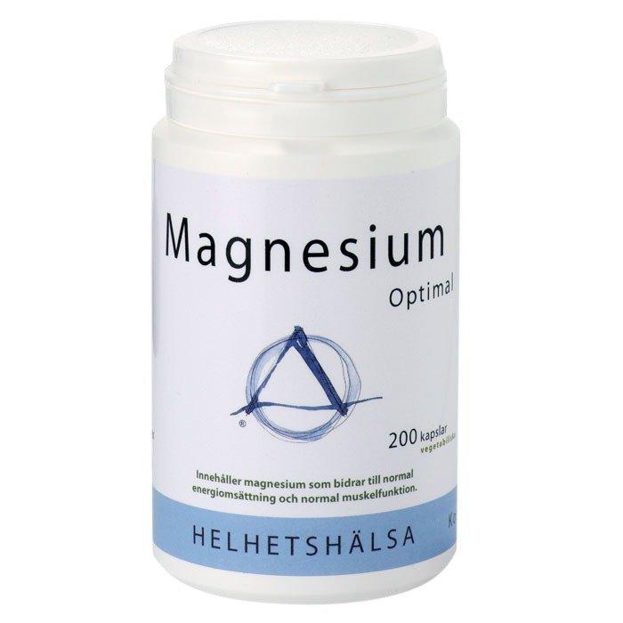 Helhetshälsa Magnesium Optimal 200 kapselia