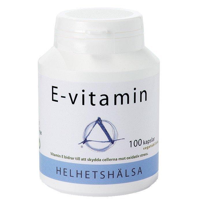 Helhetshälsa Vitamin E 100 kapselia