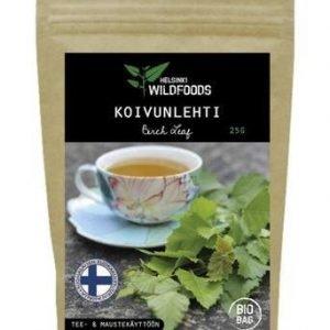 Helsinki Wildfoods Koivunlehti