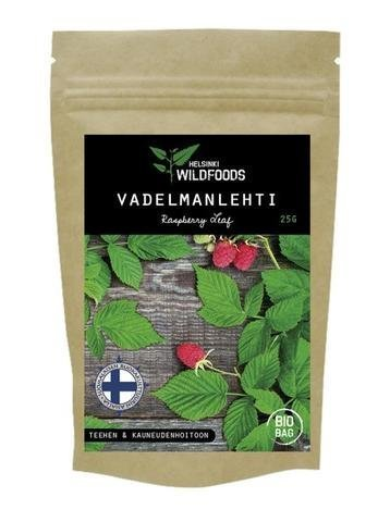 Helsinki Wildfoods Vadelmanlehti