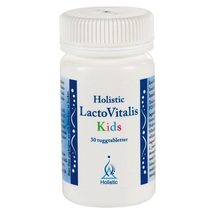 Holistic LactoVitalis Kids 30 purutabletit