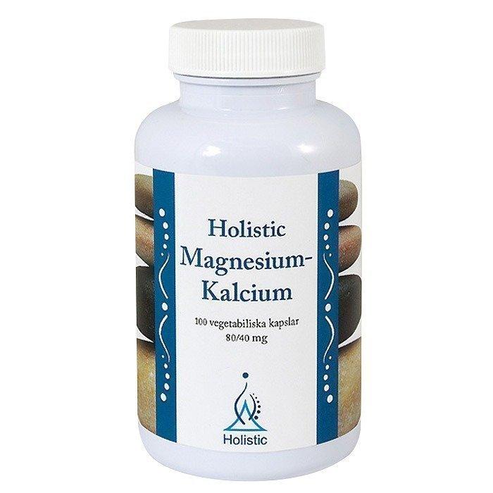 Holistic Magnesium-Kalsium 80/40 mg (veg.) 100 kapselia