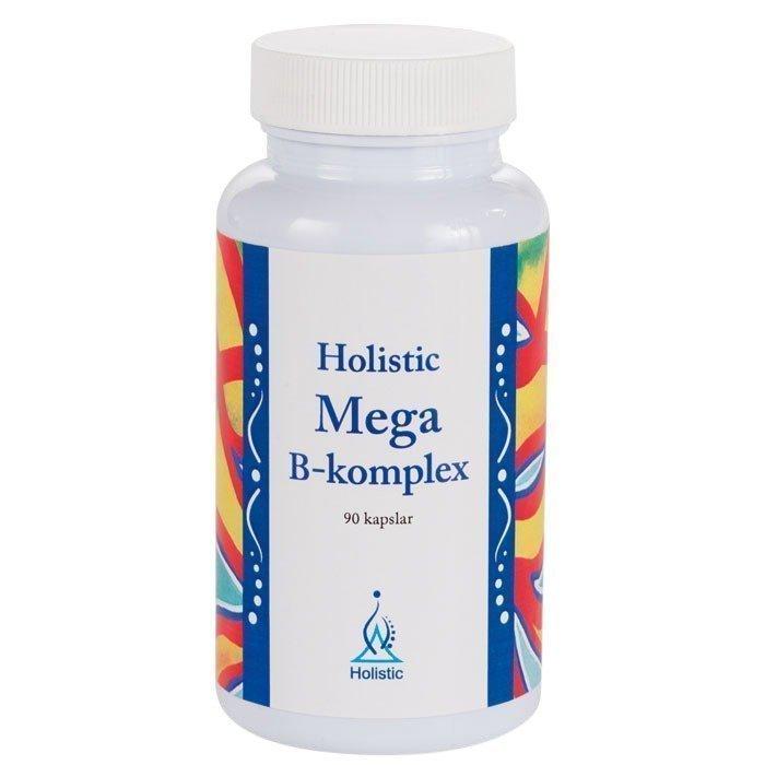 Holistic Mega B-komplex 90 kapselia