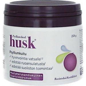 Husk Fibre Psylliumkuitu Mustaherukka