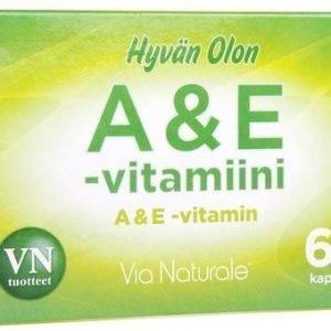 Hyvän Olon A & E-Vitamiini