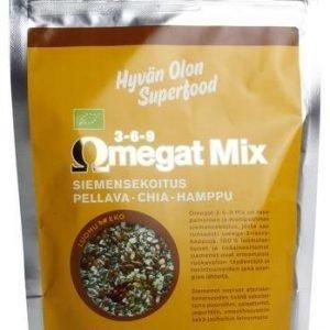 Hyvän Olon Luomu Omegat 3-6-9 Mix