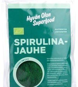 Hyvän Olon Luomu Spirulina-Jauhe