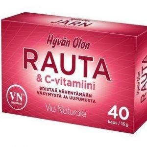 Hyvän Olon Rauta & C-Vitamiini