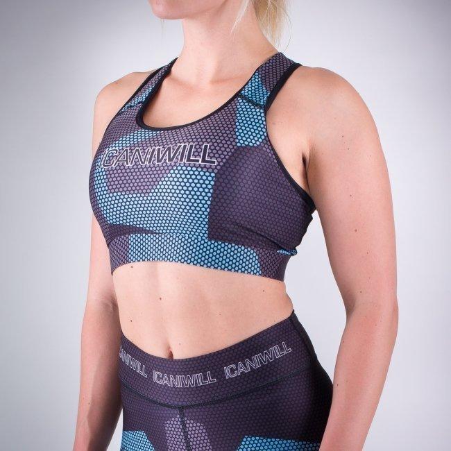ICANIWILL Diffuze urheiluliivit sininen
