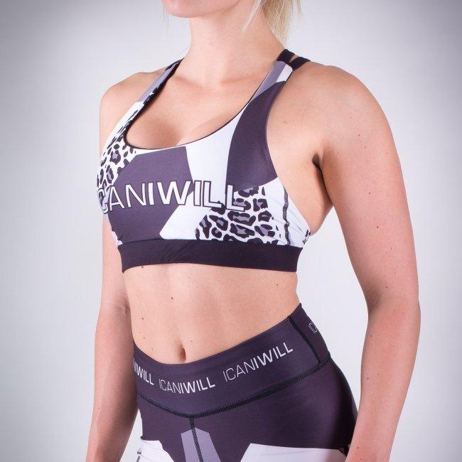 ICANIWILL Grey White Leo urheiluliivit