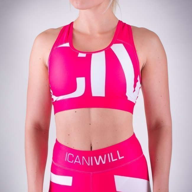 ICANIWILL ICIW urheiluliivit pinkki