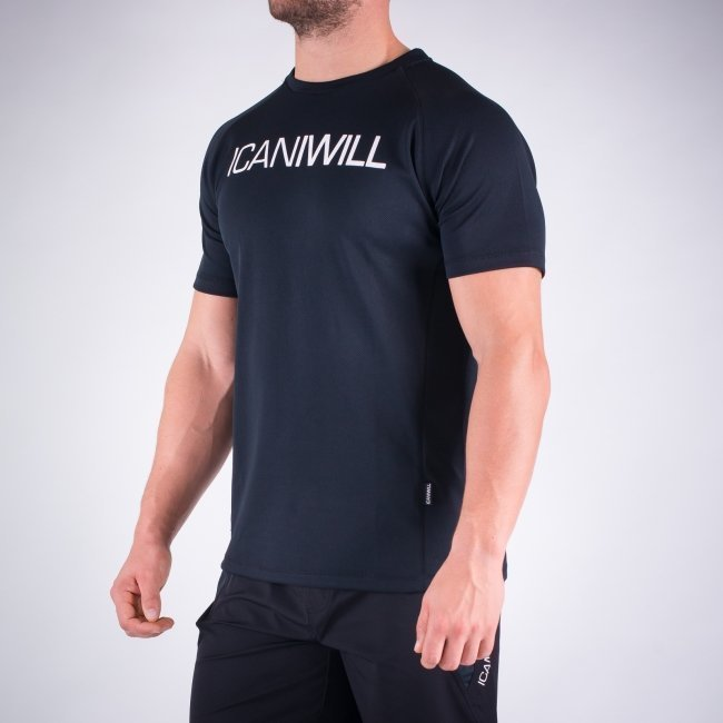 ICANIWILL Mesh Quick Dry Black