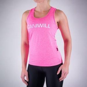 ICANIWILL Pink White treenitoppi V.2