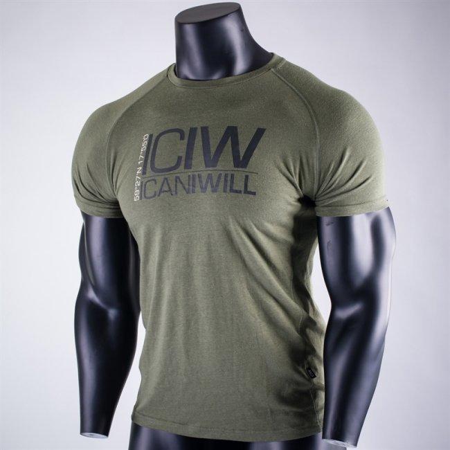 ICANIWILL Tri Blend T-shirt green