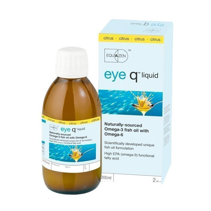 IQ Medical Eye Q nestemäinen Sitruuna 200 ml