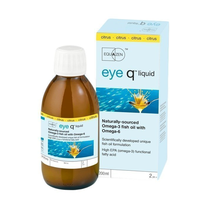 IQ Medical Eye Q nestemäinen Vanilja 200 ml