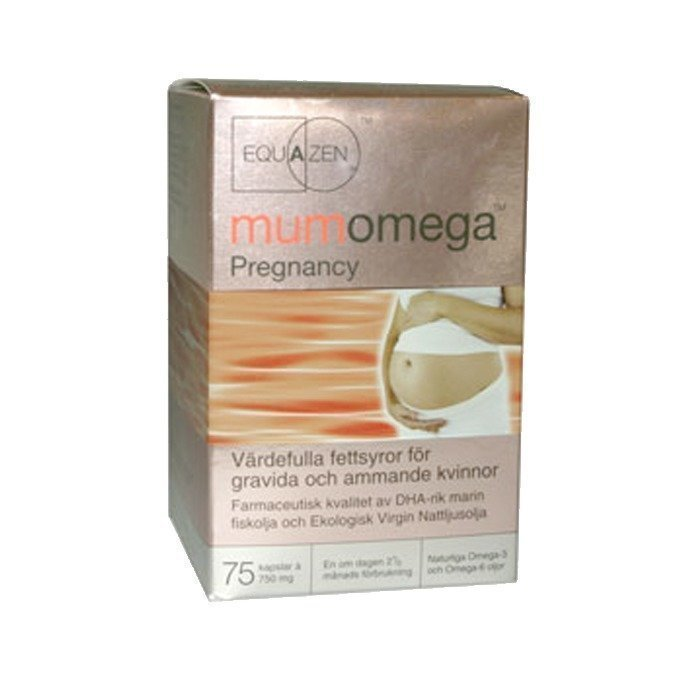 IQ Medical Mumomega Pregnancy 75 kapselia