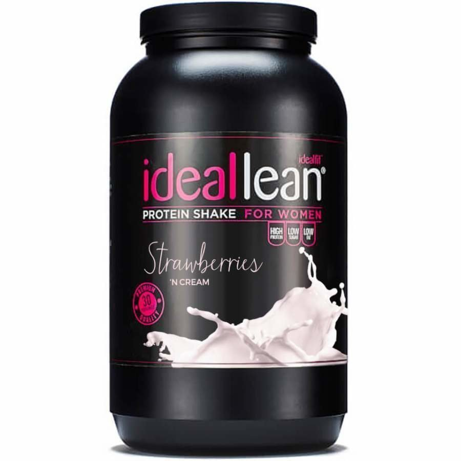 Ideallean Protein Strawberries N Cream