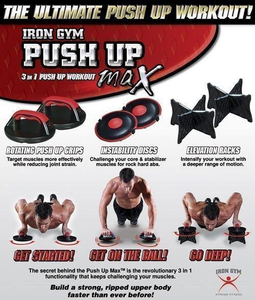 Iron Gym Iron Gym Push Up Max (set)