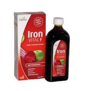 Iron Vital F Nestemäinen Rautavalmiste