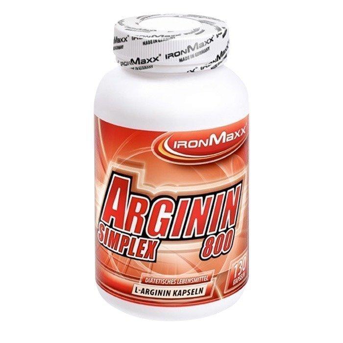IronMaxx Arginin Simplex 800 130 kapselia