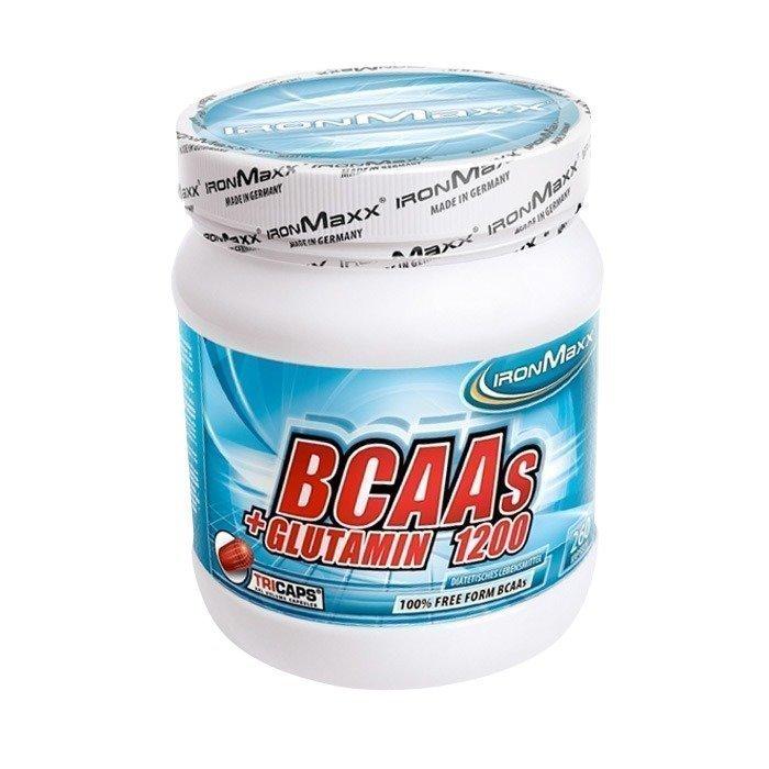 IronMaxx BCAA+Glutamin 1200 260 tricaps