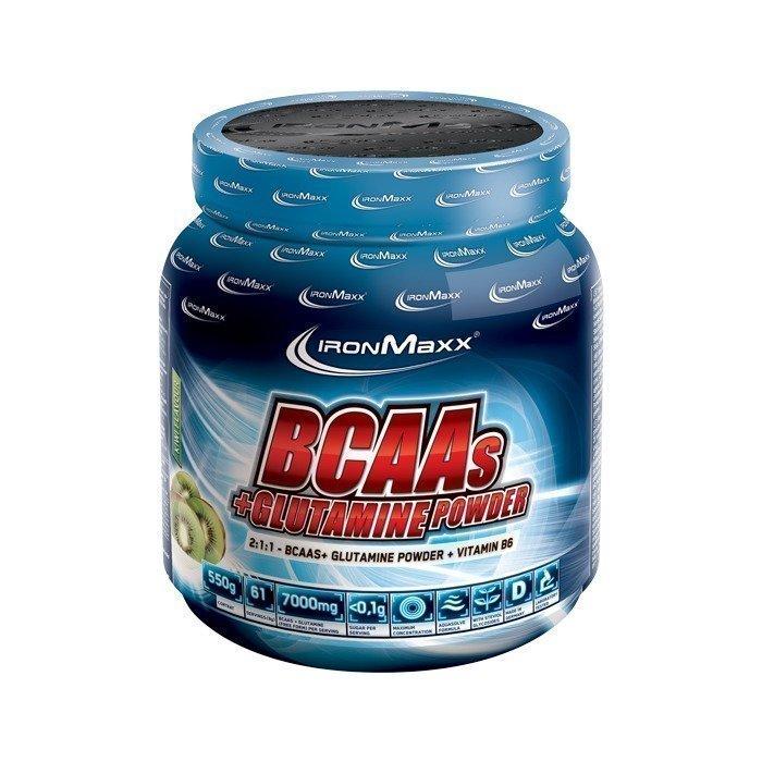 IronMaxx BCAAs + Glutamine Powder 550 g Blue Raspberry