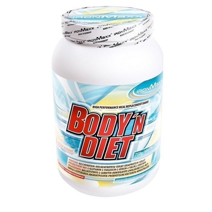 IronMaxx Body 'n Diet 750 g Vanilla