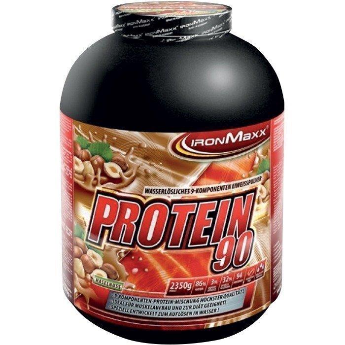 IronMaxx Protein 90 2350g Hasselpähkinä