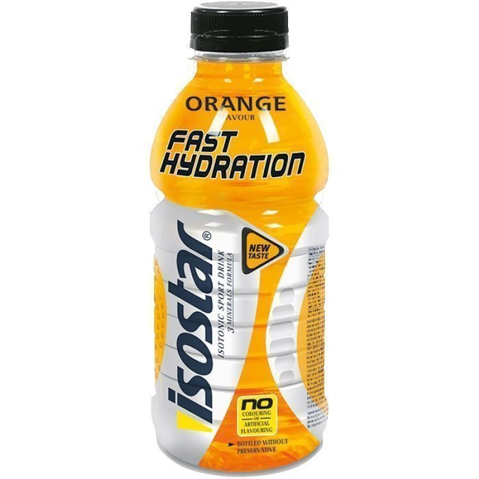 Isostar Fast Hydration 500ml Orange