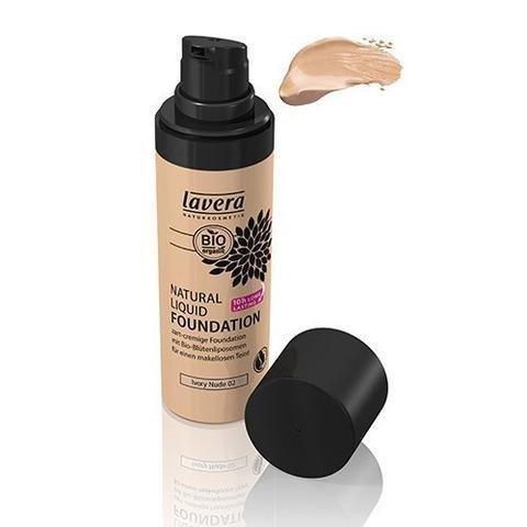 Lavera Natural Liquid Foundation Meikkivoide Ivory Nude 02