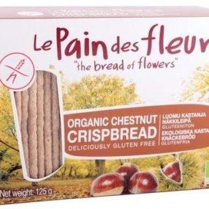 Le Pain Des Fleurs Luomu Gluteeniton Näkkileipä Kastanja