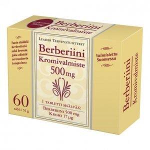 Leader Berberiini + Kromi 60kpl